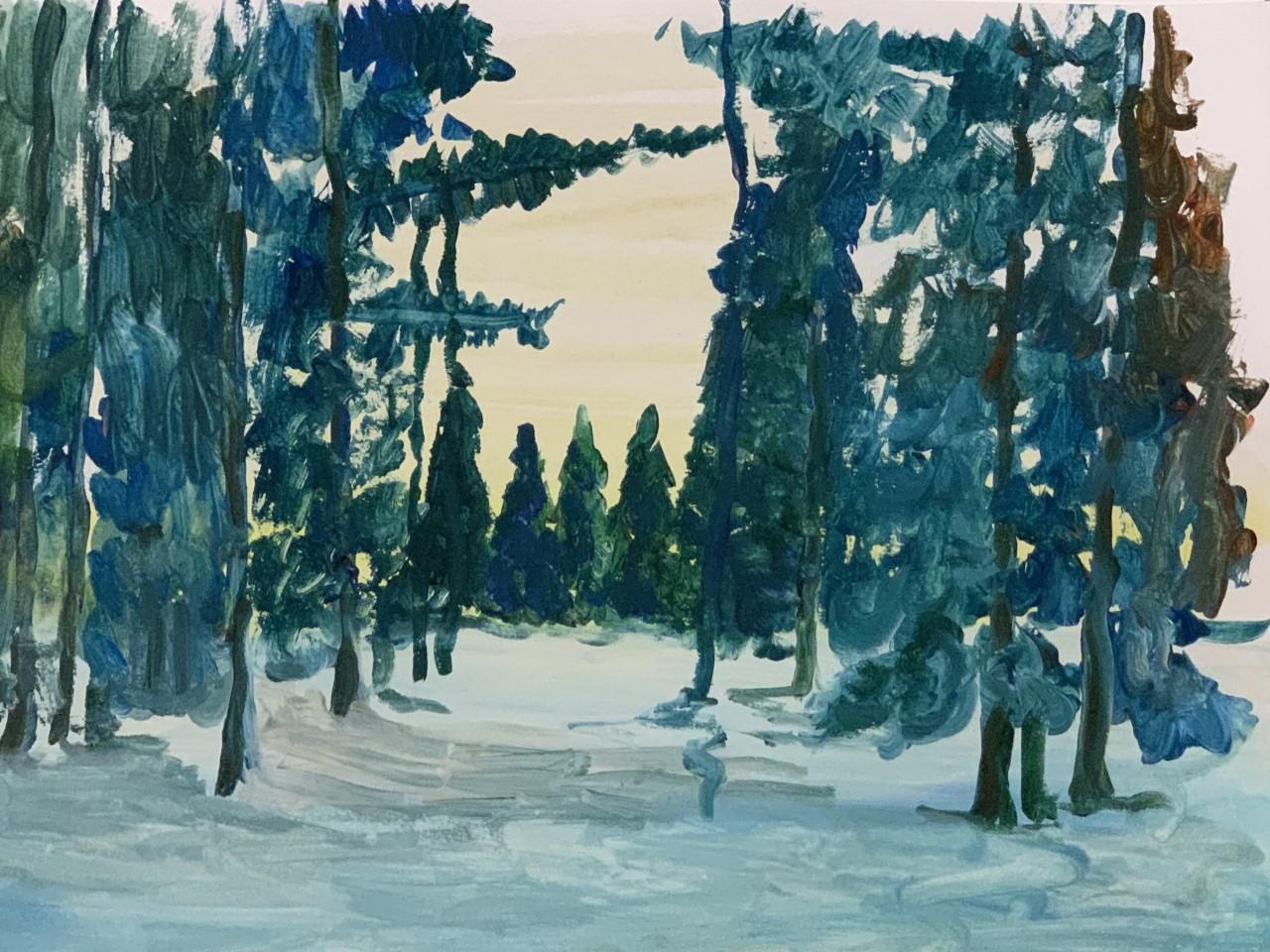 'Québec Forest'  PRINT